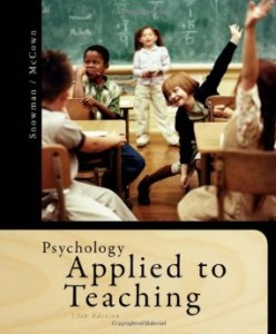 Test bank for Psychology Applied to Teaching 13th Edition by Snowman