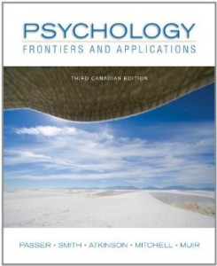 Test bank for Psychology Frontiers and Applications 3rd Canadian Edition by Passer
