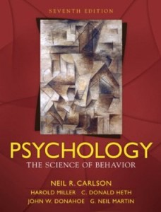 Test bank for Psychology The Science of Behavior 7th Edition by Carlson