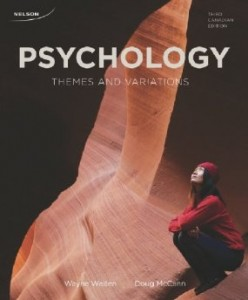 Test bank for Psychology Themes and Variations 3rd Canadian Edition by Weiten