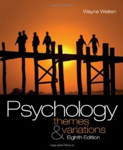 Test bank for Psychology Themes and Variations 8th Edition by Weiten