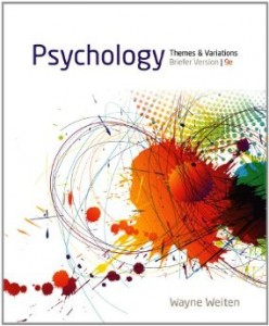 Test bank for Psychology Themes and Variations Briefer Version 9th Edition by Weiten