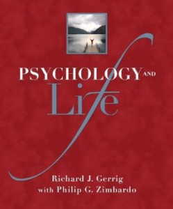 Test bank for Psychology and Life 19th Edition by Gerrig