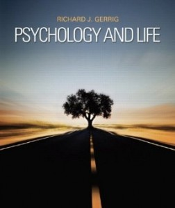Test bank for Psychology and Life 20th Edition by Gerrig