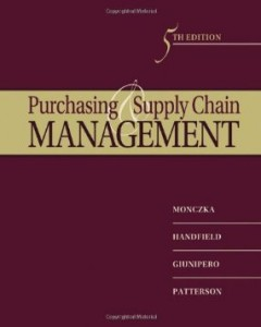 Test bank for Purchasing and Supply Chain Management 5th Edition by Monczka
