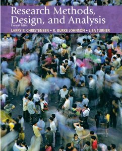 Test bank for Research Methods Design and Analysis 11th Edition by Christensen