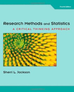 Test bank for Research Methods and Statistics 4th Edition by Jackson
