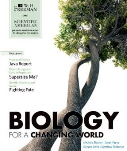Test bank for Scientific American Biology for a Changing World 1st Edition by Shuster