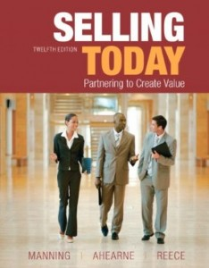 Test bank for Selling Today 12th Edition by Manning