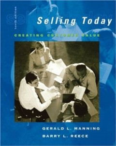 Test bank for Selling Today Creating Customer Value 10th Edition by Manning