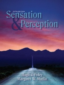 Test bank for Sensation and Perception 5th Edition by Foley