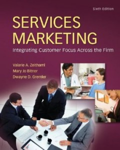 Test bank for Services Marketing 6th Edition by Zeithaml