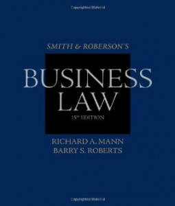 Test bank for Smith and Robersons Business Law 15th Edition by Mann