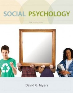 Test bank for Social Psychology 10th Edition by Myers