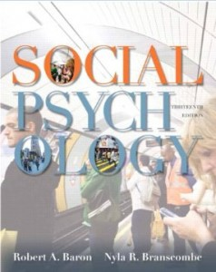 Test bank for Social Psychology 13th Edition by Baron