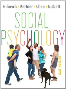 Test bank for Social Psychology 3rd Edition by Gilovich