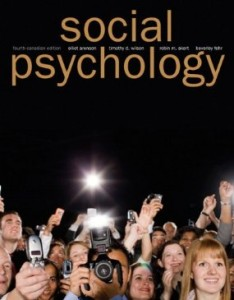 Test bank for Social Psychology 4th Canadian Edition by Aronson
