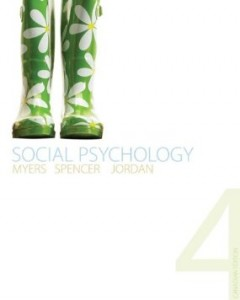 Test bank for Social Psychology 4th Canadian Edition by Myers