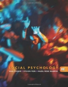 Test bank for Social Psychology 8th Edition by Kassin