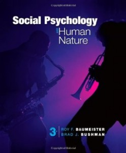 Test bank for Social Psychology and Human Nature Comprehensive 3rd Edition by Baumeister