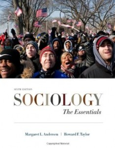 Test bank for Sociology The Essentials 6th Edition by Andersen