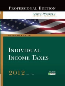 Test bank for South Western Federal Taxation 2012 Individual Income Taxes 35th Edition by Hoffman