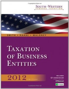 Test bank for South Western Federal Taxation 2012 Taxation of Business Entities 15th Edition by Smith
