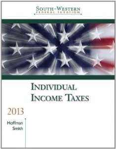 Test bank for South Western Federal Taxation 2013 Individual Income Taxes 36th Edition by Hoffman