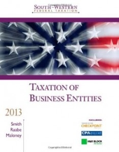 Test bank for South Western Federal Taxation 2013 Taxation of Business Entities 16th Edition by Smith