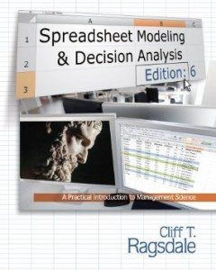 Test bank for Spreadsheet Modeling and Decision Analysis A Practical Introduction to Management Science 6th Edition by Ragsdale