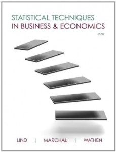 Test bank for Statistical Techniques in Business and Economics 15th Edition by Lind