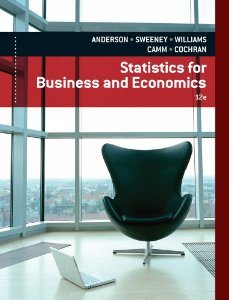 Test bank for Statistics for Business and Economics 12th Edition by Anderson