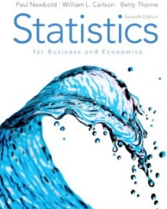 Test bank for Statistics for Business and Economics 7th Edition by Newbold
