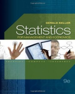 Test bank for Statistics for Management and Economics 9th Edition by Keller