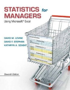 Test bank for Statistics for Managers Using Microsodt Excel 7th Edition by Levine