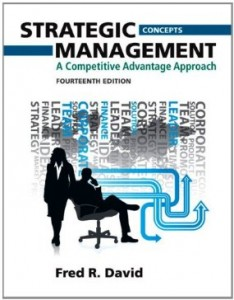 Test bank for Strategic Management A Competitive Advantage Approach 14th Edition by David