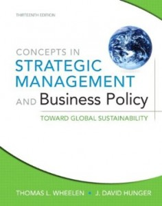 Test bank for Strategic Management and Business Policy Toward Global Sustainability 13th Edition by Wheelen
