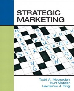 Test bank for Strategic Marketing 1st Edition by Mooradian