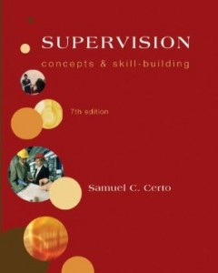 Test bank for Supervision Concepts and Skill Building 7th Edition by Certo