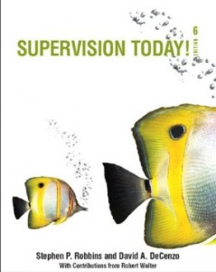 Test bank for Supervision Today 6th Edition by Robbins