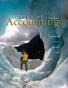 Test bank for Survey of Accounting 2nd Edition by Edmonds