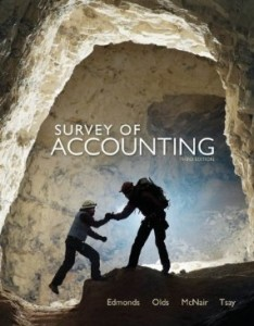 Test bank for Survey of Accounting 3rd Edition by Edmonds