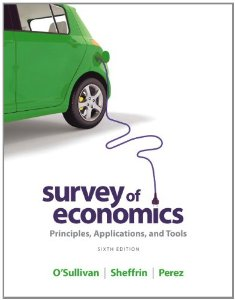 Test bank for Survey of Economics 6th Edition by OSullivan