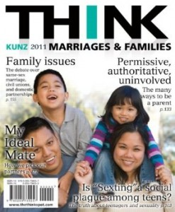 Test bank for THINK Marriages and Families 1st Edition by Kunz