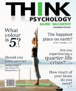 Test bank for THINK Psychology 1st Canadian Edition by Baird