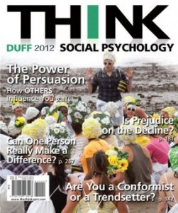 Test bank for THINK Social Psychology 2012 Edition by Duff