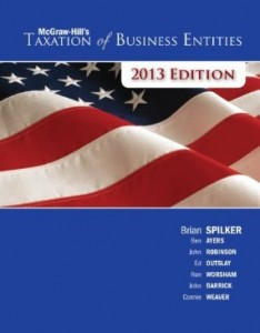 Test bank for Taxation of Business Entities 2013 4th Edition by Spilker