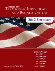Test bank for Taxation of Individuals and Business Entities 2012 3rd Edition by Spilker