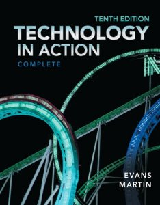 Test bank for Technology In Action 10th Edition by Evans
