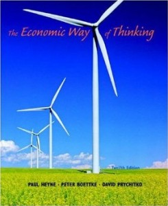 Test bank for The Economic Way of Thinking 12th Edition by Heyne